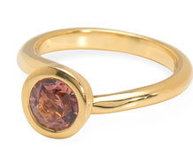 Sensual Angela Cummings Pink Topaz Ring