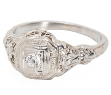 A Gift for You: Vintage Diamond Ring