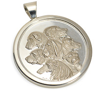 Best in Show - Dog Medallion of Silver