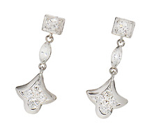 Perfect Proportions: Vintage Diamond Earrings