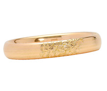 Sweet Sentiment: Engraved Vintage Bangle