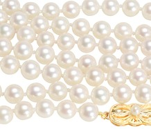 Mikimoto Cultured Pearl Necklace