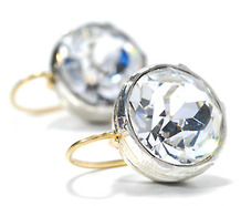 Icy Sizzle Paste Solitaire Earrings