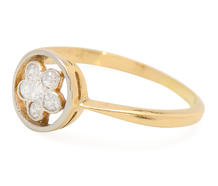 Five Petals in a Vintage English Ring