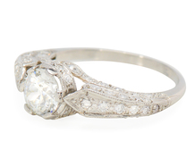 All in White - Diamond Engagement Ring