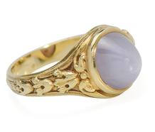Nature's Wonder: Tiffany Star Sapphire Ring