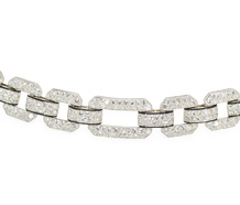 Van Cleef & Arpels Deco Diamond Bracelet