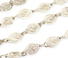 Bloom Again - Flower Motif Long Chain