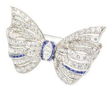 Carrington & Co. Diamond Bow Brooch