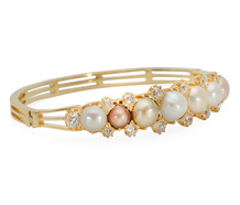 Exquisite Edwardian Natural Pearl Bracelet