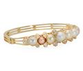 Exquisite Edwardian Natural Pearl Bracelet