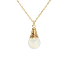 Kaleidoscope: Floating Opal Pendant
