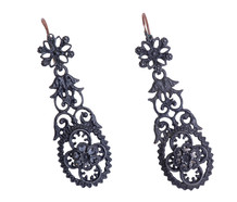 Berlin Iron Day & Night Earrings