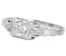 To Be Entranced - Platinum Diamond Ring