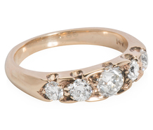 Five of a Kind: Edwardian Diamond Ring