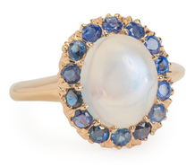 Blue Moon Aglow - Gem Set Ring