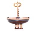 Banded Agate Basket Charm