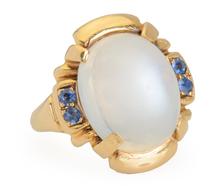 Tiffany Moonstone Sapphire Ring