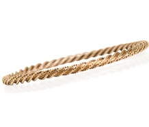 Tiffany & Co. 18k Gold Bangle Made in France