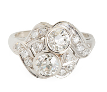 Diamond Girl: Art Deco Ring
