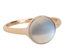 Aura in a Blue Moonstone Ring