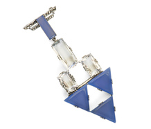 Reach the Stars: Rock Crystal Brooch