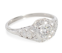 Celestial Drama - Diamond Platinum Ring