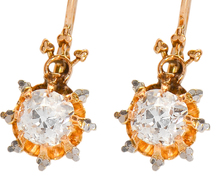 Set Apart: Diamond Drop Earrings