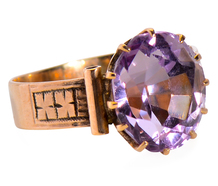 Eye for Detail - Victorian Amethyst Ring