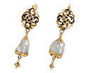 Treasure of the Sea - 17th C. Natural Pearl Earrings