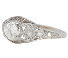 Frosted Desire - Art Deco Diamond Ring