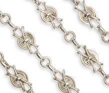 French Extravagance - Long Silver Chain