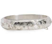 Luxury in Sterling - Bangle Bracelet