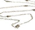 Art Nouveau Whimsy - Silver Long Chain