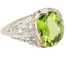 Unexpected -  Peridot Vintage Ring