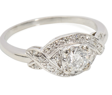Platinum Pleasure - Diamond Engagement Ring