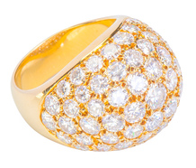 Van Cleef Dome of Diamonds Ring