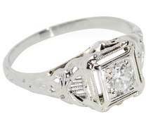 Cherished Vintage Diamond Ring