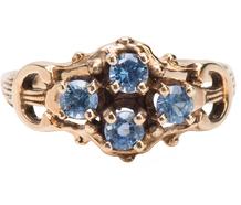 Melody of Gold - Ceylon Sapphire Ring