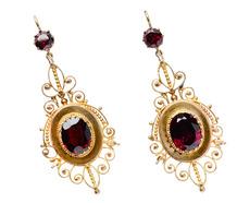 Outstanding Almandine Garnet Earrings