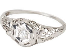 Positive Potential - Diamond Filigree Ring