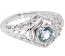 Cool as Ice - Aquamarine Ring