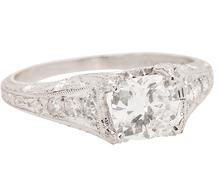 Forward Vision - 1.0 ct Cushion Cut Diamond Ring