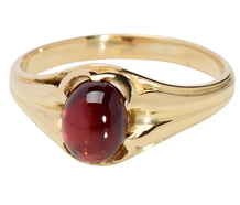 Cherry on Top - Victorian Garnet Ring