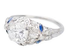 Ode to Romance - Diamond Sapphire Ring