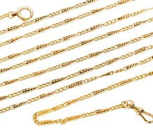 Victorian 18k Decorative Long Chain