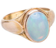 Friendship & Loyalty - Art Nouveau Opal Ring