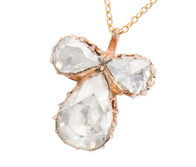 Many Facets - Rose Cut Diamond Pendant