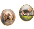 Terrier Kisses - Essex Crystal Dog Cuff Links