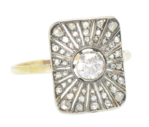 Here Comes the Sun - Edwardian Diamond Ring